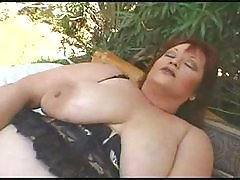 Fat Mature Lady Getting It On