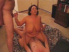 Wife rides hubby's work buddy!!!