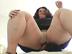 BBW Fat Woman Sitting On A Little Man's Face
